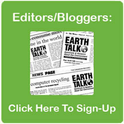 EarthTalk editors signup EarthTalk editors signup