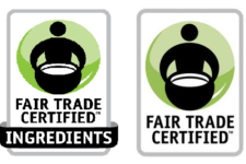 Fair Trade USA label 225x150 Sustainable Apparel: Greening Your Wardrobe One Garment at a Time