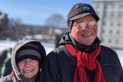 Gus and Cameron Speth 400x267 Policy Guru Gus Speth Uses Poetry to Voice Climate Concerns