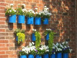 Tin Can Flower Ports HappySleepy Repurposing Tin Cans