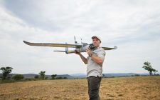 Air Shepherd is using drones to monitor poachers in Africa.