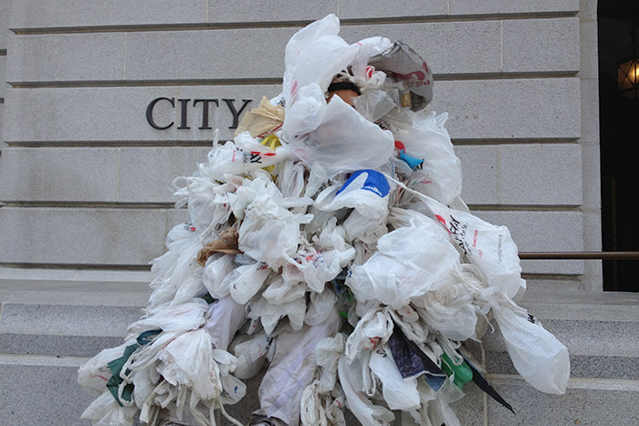 """<span class=""""entry-title-primary"""">Where did the plastic bags go?</span> <span class=""""entry-subtitle"""">Greens want federal plastic bag ban following lead of California</span>"""