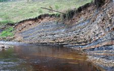 Earth's history recorded in sedimentary stratifications.