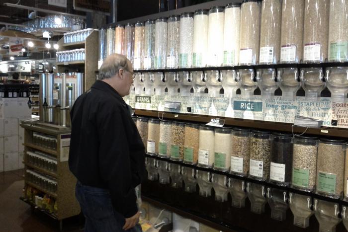 bulk aisle bulk aisle