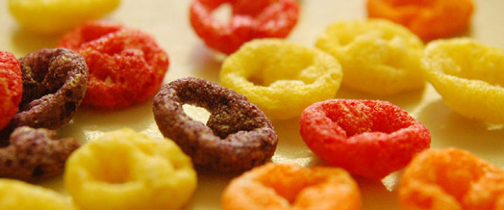 According to a report by the Environmental Working Group (EWG), nearly half of American kids aged eight and under consume potentially harmful amounts of vitamin A, zinc and niacin because of excessive food fortification. EWG's report focused on two frequently fortified food categories: breakfast cereals and snack bars. Credit: Beketchai, FlickrCC